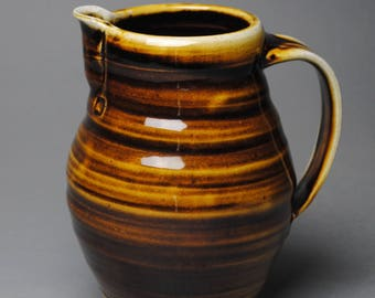Clay Pitcher Stoneware H40