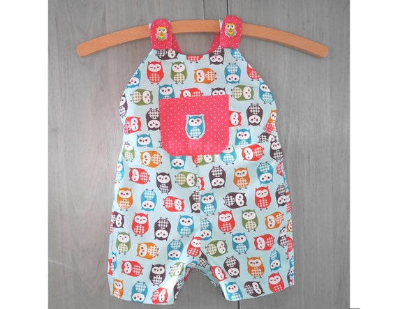 Children Baby Romper sewing pattern Pdf BREEZY Overall