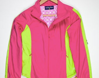 Turtles & Tee's Girls Windbreaker Jacket with water resistant fabric size XL (14/16).