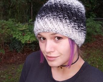 Crochet Winter Hat/Warm Winter Hat/Reversible Hat