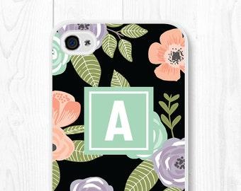 iPhone 6 Case Floral iPhone SE Case Samsung Galaxy S7 Case Floral Phone Case iPhone 6 Plus Case Mint iPhone 5 Case Samsung Galaxy S6 Case