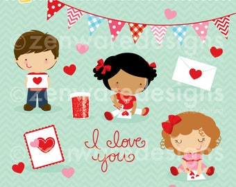 Valentine Card Makers Clipart