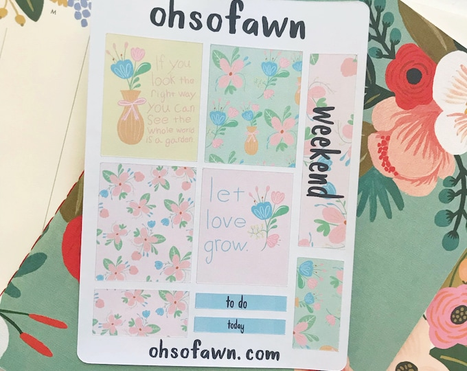 Spring Floral Mini Kit