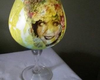 Balloon Glass light. Pretty Lady.