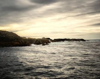 Landscape Print | Ocean Art | Dreamy Photography | Nature Photography | Minimalist Art | 8x12 Wall Decor | Tofino British Columbia | Zen