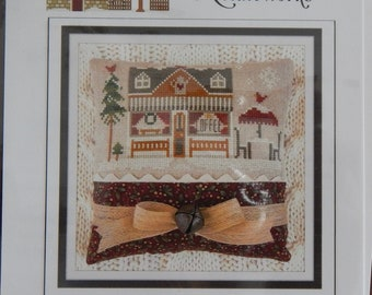 Hometown Holidays - Coffee Shop by Little House Needleworks