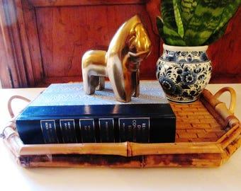 Brass Lion, Hollywood Regency, Nursery Decor, Modernist Lion, Home Office Decor, Gift for Leo