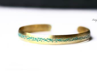 Vintage Bracelet with Patina