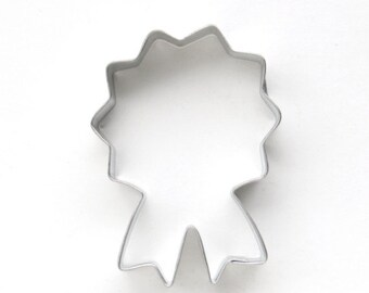 Prize Ribbon Cookie Cutter, Blue Ribbon Cookie Cutter, Medallion Cookie Cutter