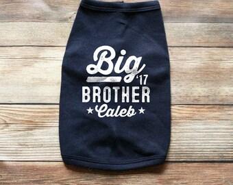 Dog Pregnancy Announcement Shirt - Dog Big Brother Shirt - Dog Big Brother Announcement - Big Brother Dog shirt - Dog Baby Announcement