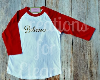 Christmas T-shirt, Womens Christmas Shirt, Christmas Tshirt, Womens Christmas Tshirt, Christmas, Raglan Sleeve, Baseball, Holiday Tshirt