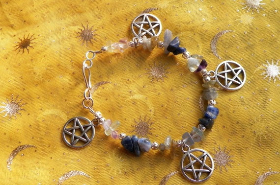 Stone Magick Empathy Filter Bracelet 20+ years experience Crystal Healing