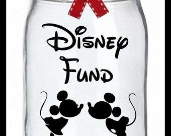 Disney Vacation Fund, Vacation Bank, Coin Jar, Disney Bank, Family V action Bank, Mickey Mouse Savings Fund, Money Bank,