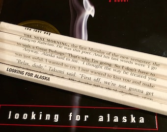 Looking For Alaska Wrapped Pencil Set
