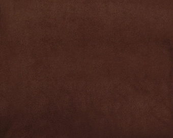 Solid Brown Antipill Fabric sold by the yard