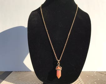Copper Stone Necklace