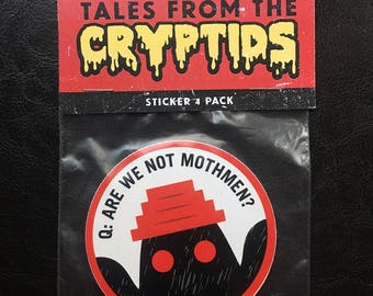 Tales from the Cryptids Vinyl Sticker 4-pack