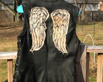 Walking Dead's Daryl Dixon Style Women's Vest