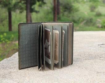 1930s photo album, Medium size photo album, Photo album, Old photo album, Antique photo album, Vintage photo holder black/white photos