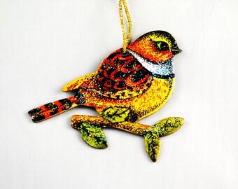 Christmas Songbird Ornament