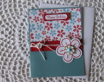 Handmade Greeting Card: Happy Birthday (Teen/Young Adult)