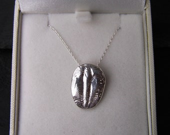 TEMPLATE Solid Silver Trilobite Necklace