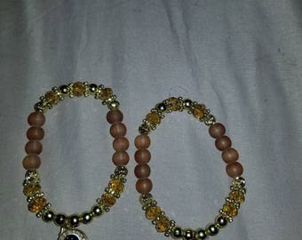 Handmade beaded bracelet by local villagers/artists in Puebla, Mexico. ***Free shipping on purchases over 30 dollars