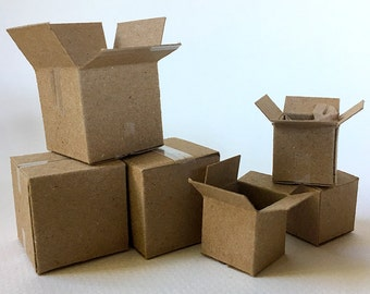 FF12/9 Miniature Boxes; 1:12 Scale Kit
