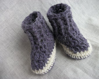 "Waldorf Doll Shoes, alpaca, wool, doll clothes, sole approx 3.5"" long &  3"" high, doll dress, waldorf doll sweater"