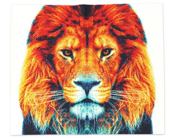 Lion Blanket - Colorful Animals