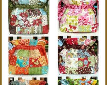 PDF Bag Pattern The Original ShelbyMine Drawstring Bag Carlene Westberg Designs