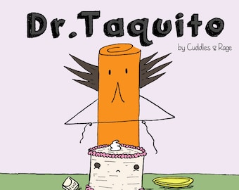 Cooking with Dr. Taquito - minicomic