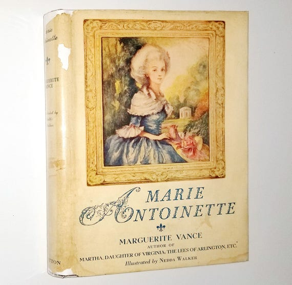Marie Antoinette: Daughter of an Empress by Maguerite Vance 1950 Hardcover HC w/ Dust Jacket DJ - Children Youth YA
