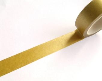 10 m Masking Tape Washi tape gold Tape