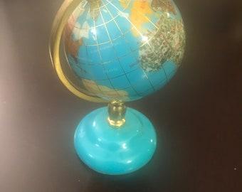 Spinning World Map Globe/ Decorative Desk Globe
