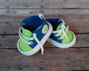 Fondant tennis shoe