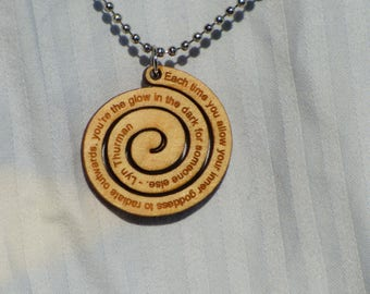 Inspirational swirl