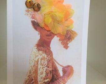 Retro Handmade Greeting Card