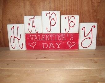 Happy Valentine's Day Blocks
