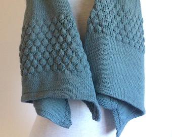 Scarf-Shawl GLOP merino wool.