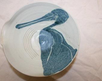 Vintage Pelican sauce bowl