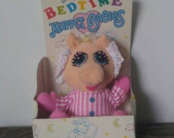 Vintage 1989 Baby Miss Piggy