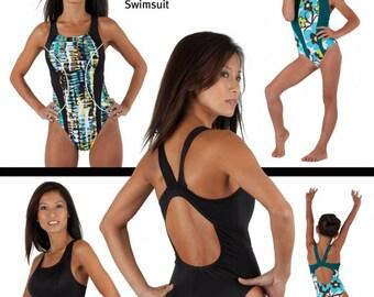Jalie 3134 - Racerback Swimsuit / 27 Sizes / Child & Adult
