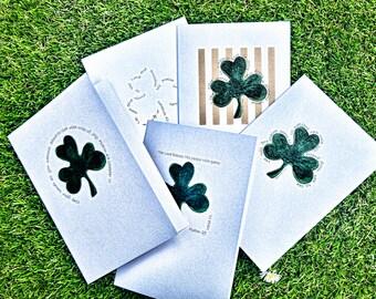 Shamrock Card Series - Pack of 5