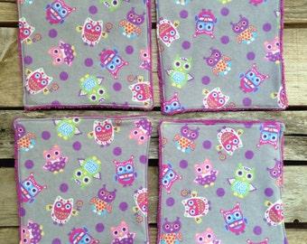 Flannel & Terry Cloth Wash Cloth - Bath Cloth - Cloth Baby Wipe - Boogie Wipe Cloth - Reusable Wipes - Flannel Wipes - Bath Cloth - Bathtime