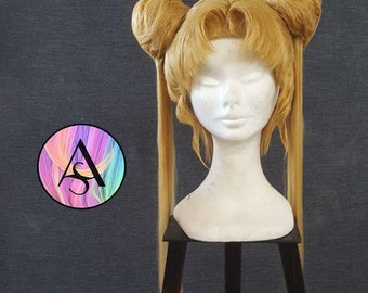 Sailor Moon Wig for cosplay, comicon, pretty girl - the Power of moon for special cute cosplayer - queen serenity is back