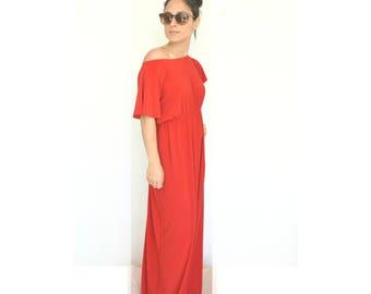 Plus size dress, 'Cinderella' Maxi dress, Custom maxi dress, Plus size gown, Floor length dress, Maxi evening gown, Plus size maxi dress