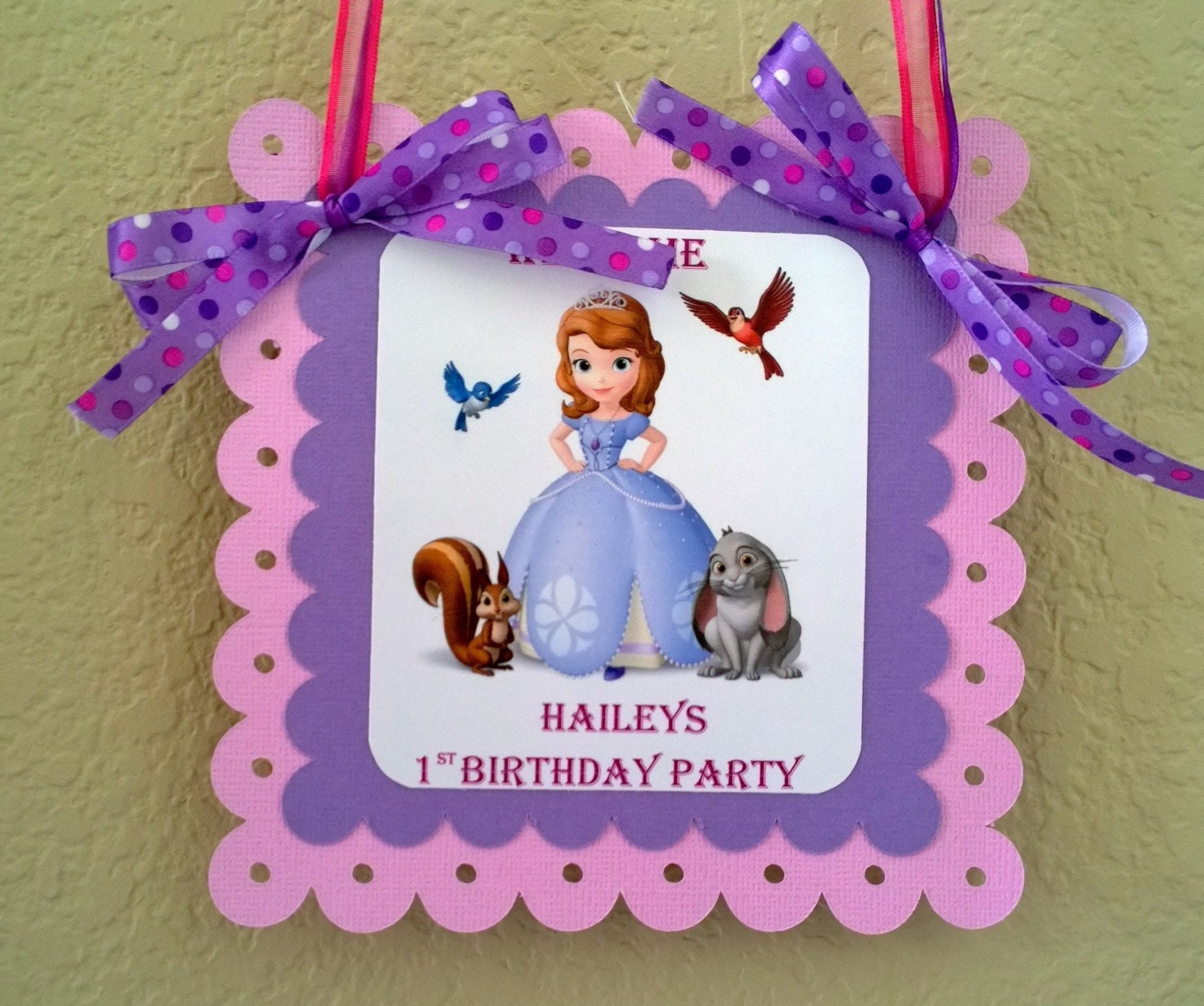 ?zoom & Princess Sofia The First Door Banner Sofia The First Door