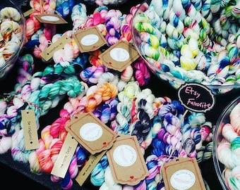 Mini Skein - sock yarn club - 3 month membership