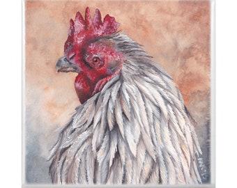 Trivet: Rooster